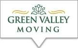 Logo for Green Valley Moving, located in Mt. Crawford VA