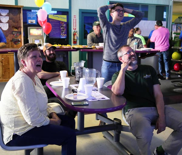 Green Valley employees participating in the annual 2017 Bowl For Kids' Sake